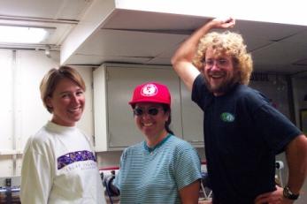 L to R: Brandi, Taniel, and Scott from NOAA's Environmental Technology Lab (ETL).