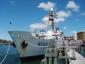 NOAA Ship Delaware II in port
