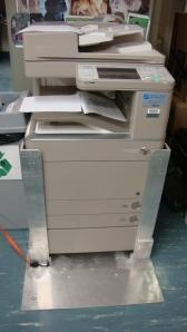 bracket holds copier