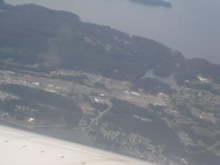 The town of Kodiak.