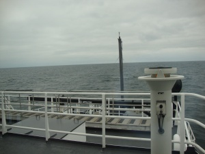 from the aft deck