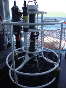 Conductivity, Temperature and depth device
