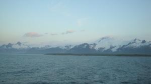 Mountains of the Alaskan peninsula