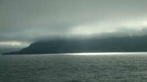 sunlight through the fog