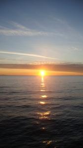 sunrise in Shelikof Strait
