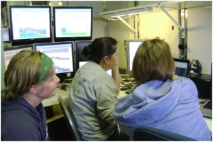 Scientist (on ship)/Science Operation Lead (on land): Noriko