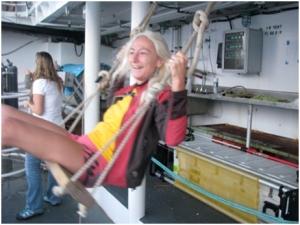 Research Oceanographer:  Reka Domokos