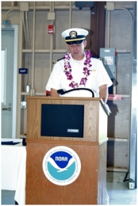 Field Operations officer (OPS): LT Colin Little, NOAA