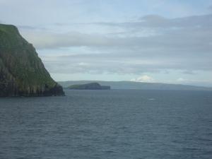 long range view of SI, Alaskan Peninsula