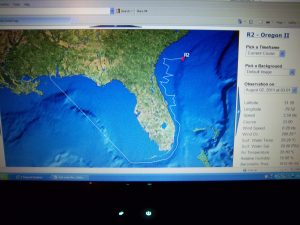 Current Cruise (8-2-11) for Oregon II on The Ship Tracker