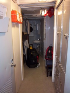 My living quarters, stateroom 12