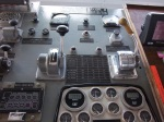 Engine Control Panel- Pitch indicator is in the center on the right.
