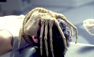 "Kane from Alien with ""Facehugger"""