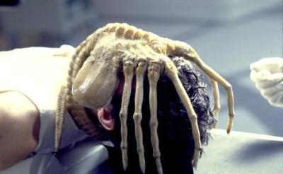 """Kane from Alien with """"Facehugger"""""""