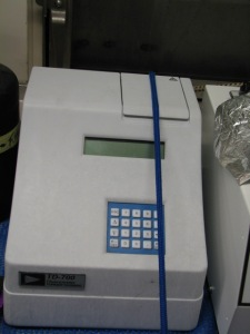 Fluorometer; Berring Sea 08-25-11