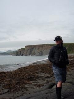 Fossil Beach. Kodiak, AK