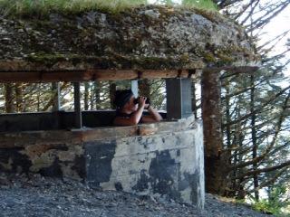 ...historic World War II bunkers,