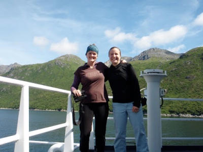 Teachers at Sea: Staci and Cat