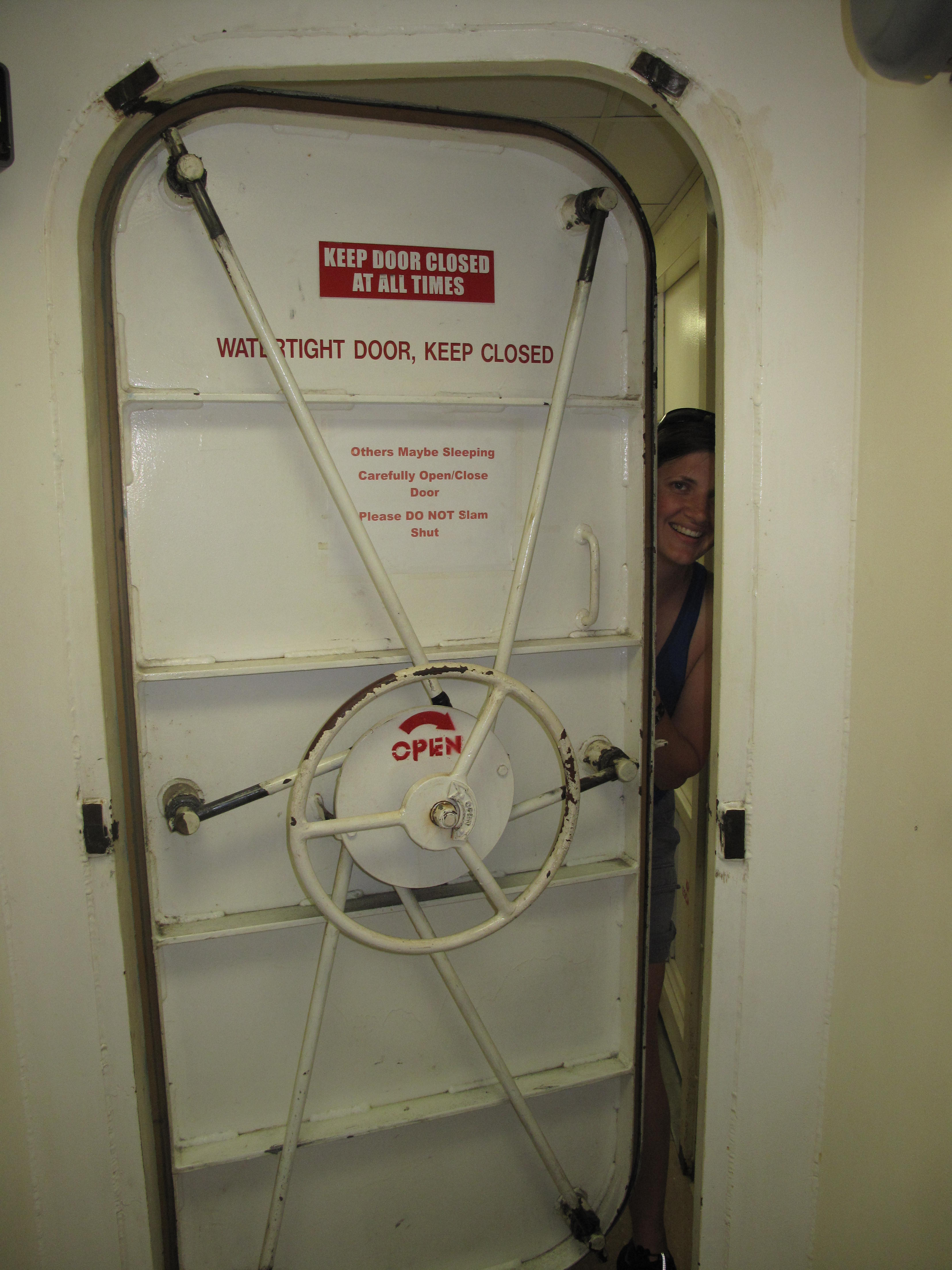 This door ... & watertight doors | NOAA Teacher at Sea Blog