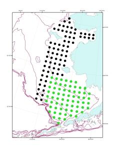 BASIS 2011 Station Grids