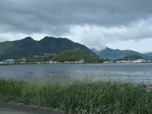 The beautiful town of Unalaska.