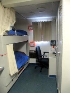 Mine and Ellen's room.