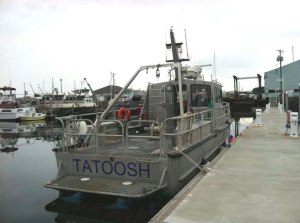 The Tatoosh at dock