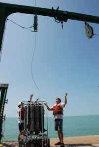Launching the CTD
