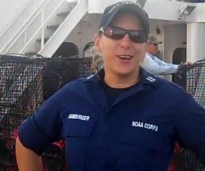 Operations Officer, Lt. Tracy Hamburger
