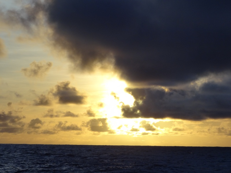 We say good-bye to another lovely day off the coast of Pago Pago, American Samoa.