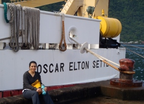 Maria Madrigal, Teacher at Sea on Oscar Elton Sette