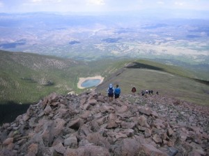 Hiking Eagle Peak