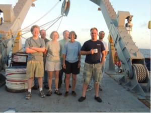 The WHOI UOP group – Jamie, Jeff,Nan, Bob, me, Sean and Sebastien
