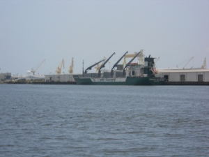 Ship yards in Pascagoula