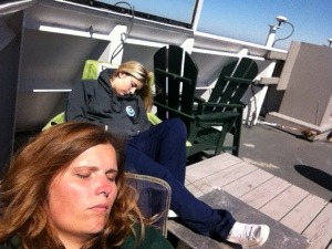 Flying Bridge Naptime