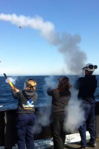 Pyrotechnics Demonstration