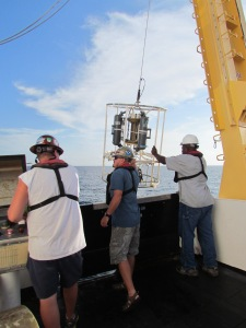 Deploing the CTD