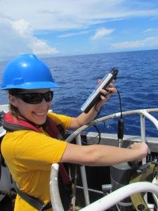 Digitally measuring dissolved oxygen levels