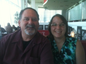 Me and Dad at Lunch