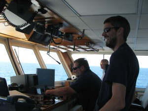 Nate Bacheler and Capt. Sweatte