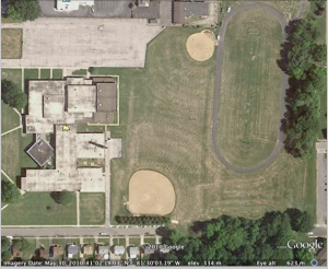 Google Map of Kent Middle School