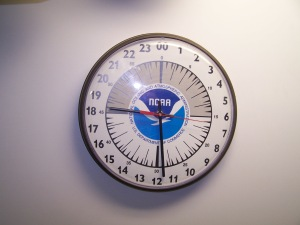 The current time is 1829 (6:29 p.m.). We use a 24-hour clock. One p.m. is 1300, two p.m. is 1400, etc.