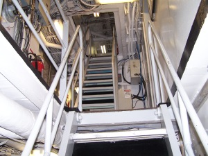 The Ladder is the Stairs that take you from deck to deck.