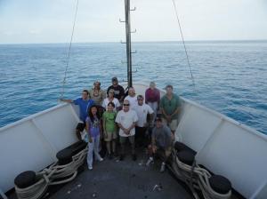 Science Team. Photo by Lt. Josh Slater.