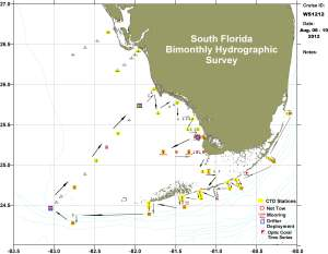 South Florida Bimothly Hydrographic Survey map