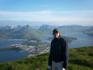 Me at the summit of Ballyhoo