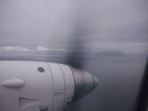 Approaching Dutch Harbor