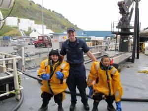Safety onboard the Oscar Dyson