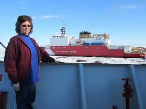 Me on USCGS Louis