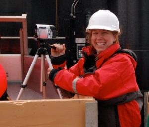 Jeanette videotaping